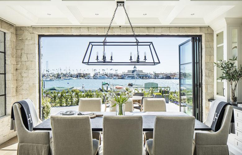 open dining room in Boardwalk beach house