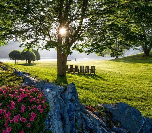 Innisfree Gardens in Millbrook Dutchess County NY
