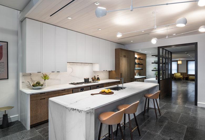 minimalist Upper East side NY brownstone