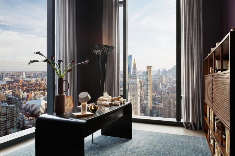modern office luxury New York penthouse