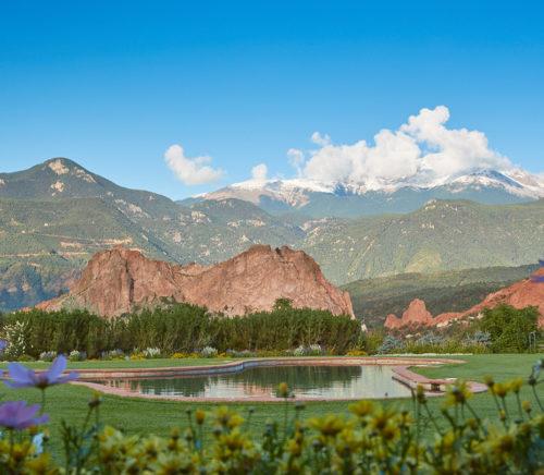 mountain view at STRATA Wellness Spa