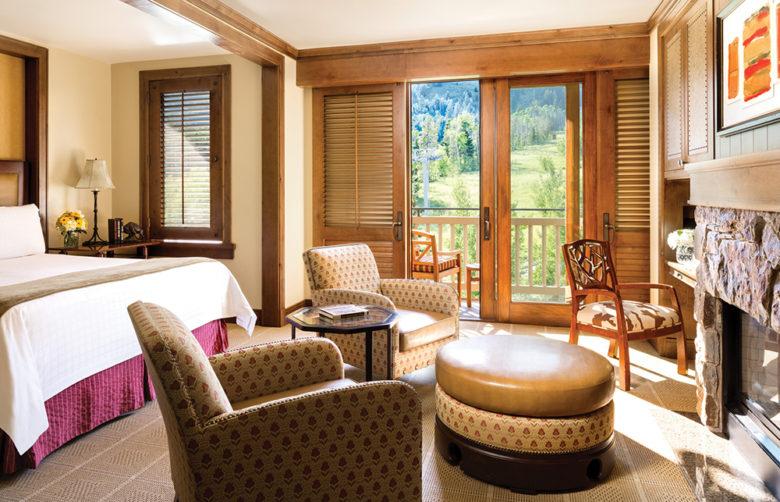 Four Seasons resort at Grand Teton national park