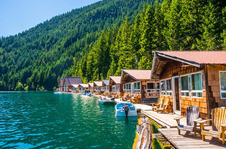 Lake Cabins at Cascades National Park