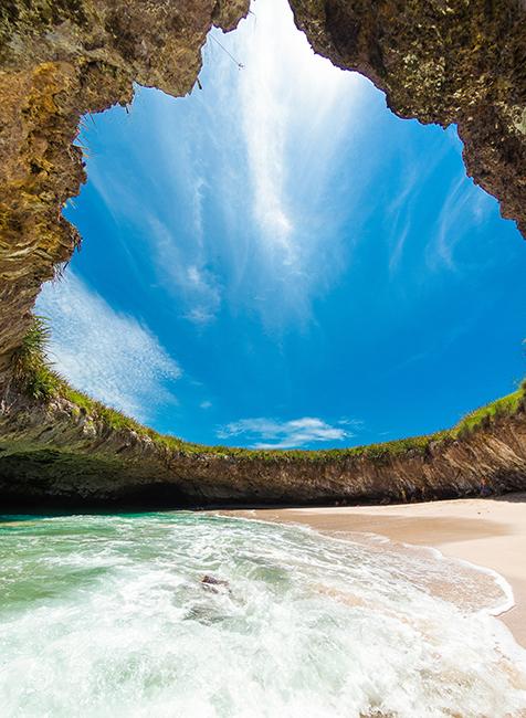 Marietas Island hidden beach Puerta Vallarta