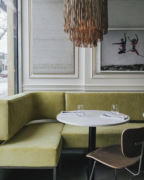 Modern restaurant design by Nike Onile