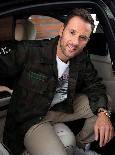 Alex Manos classic car dealer in Beverly Hills