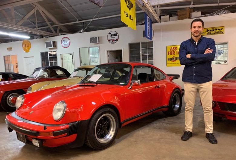 Alex Manos owner of Bevelry HIlls Car Club