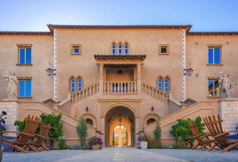 Allegretto vineyard hotel in Paso Robles California