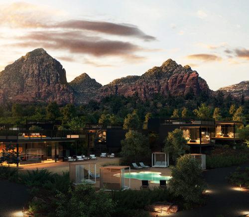 Ambiente landscape hotel in Sedona Arizona