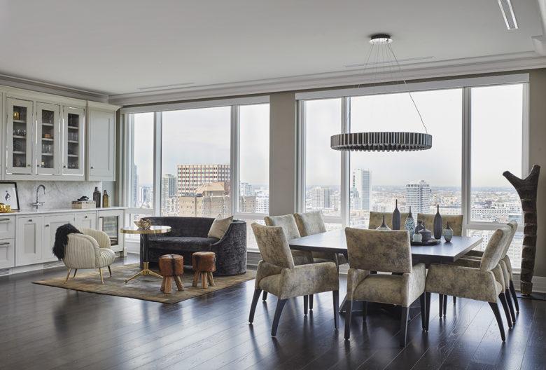 Chicago high rise interor design by Donna Mondi