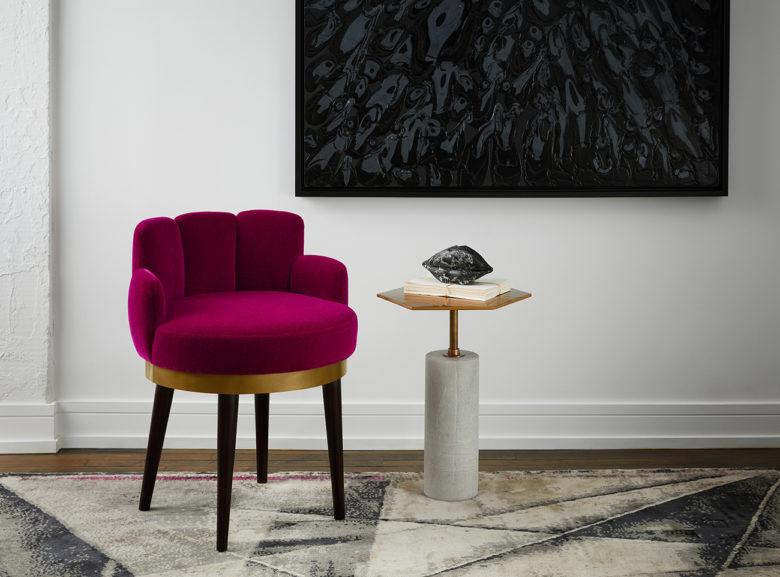 Donna Mondi's luxury furniture collection Envie