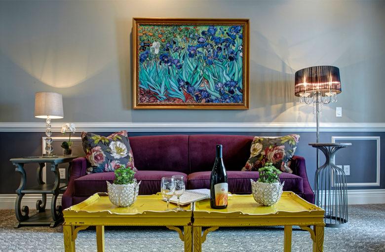Traverse City vineyard hotel Chateau Chantal