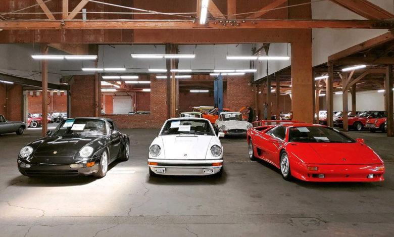 classic car dealer Alex Manos in Beverly Hills
