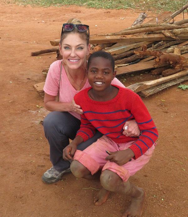 Debra Navarro philanthropy at Mwatate Children's Home