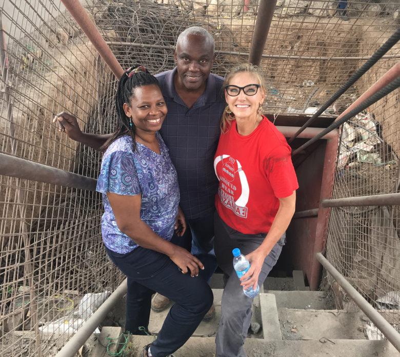 Debra Navarro visits Tanzanian gem mine