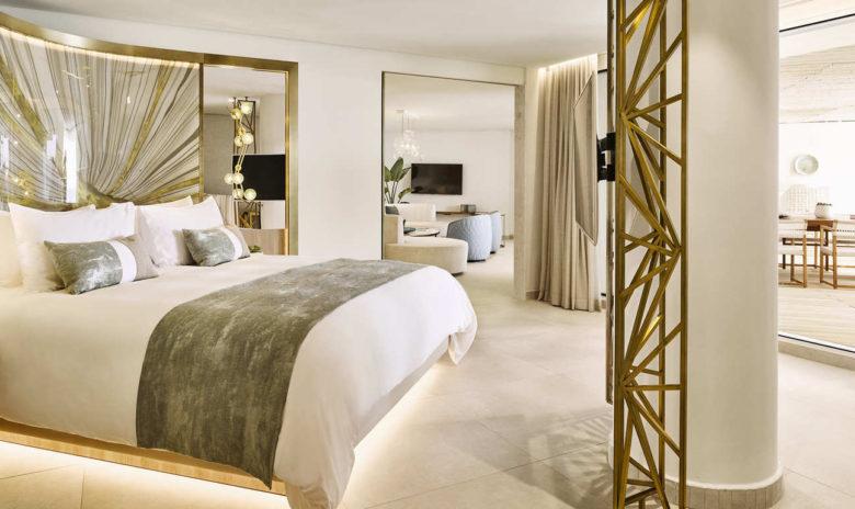 Nobu Hotel Ibiza Bay featured in Brandon Berkson's hotel guide