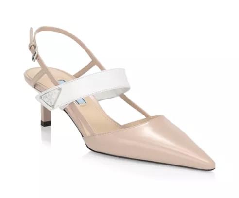 Prada sling back pumps fall shoes