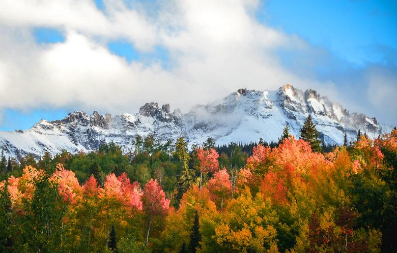 enjoy Fall foliage bike tours in Aspen