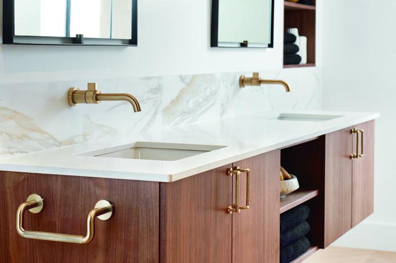 luxury kitchen appliances by BRIZO in ICONIC HAUS