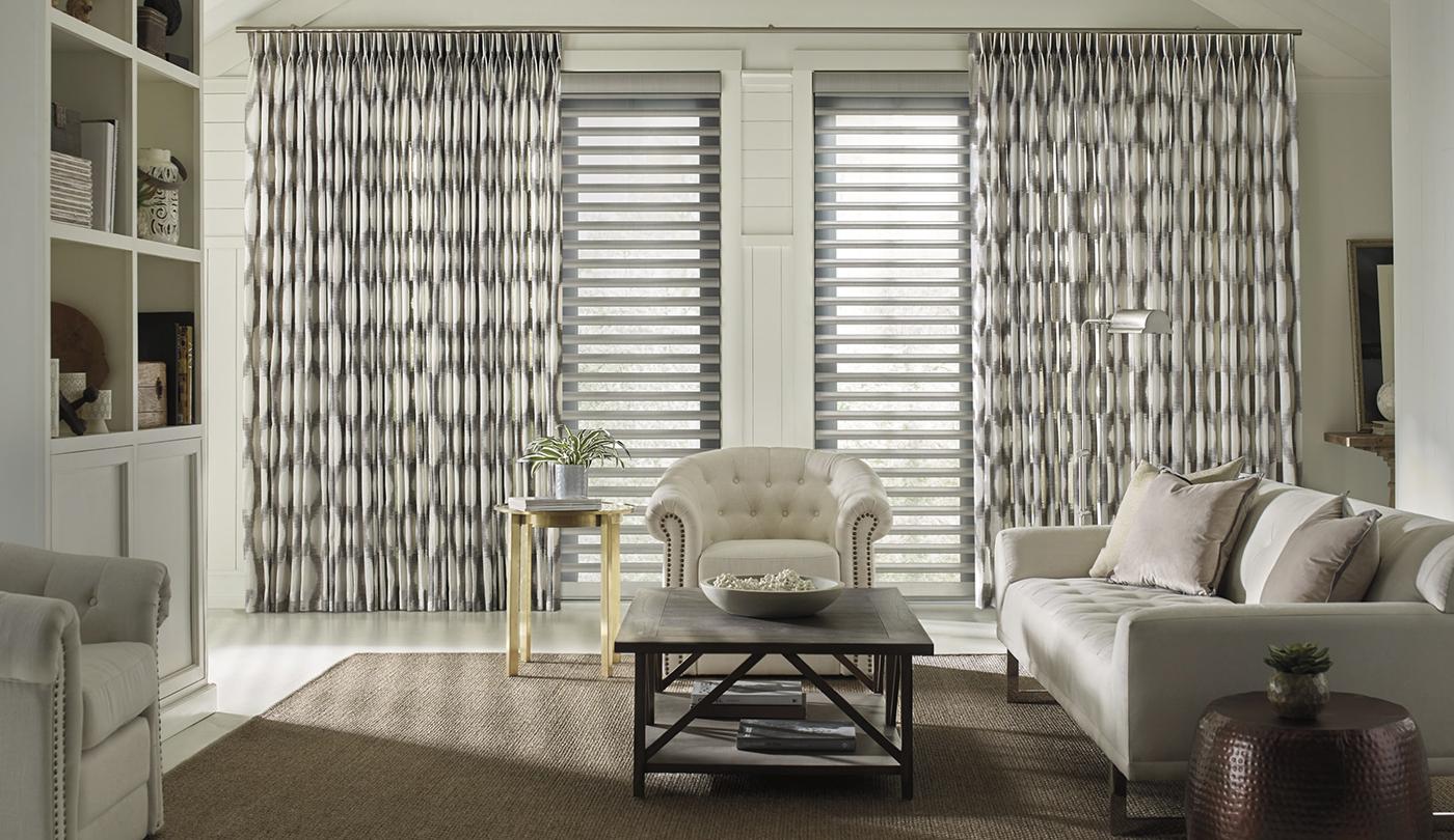luxury window treatments from Hunter Douglas ICONIC HAUS