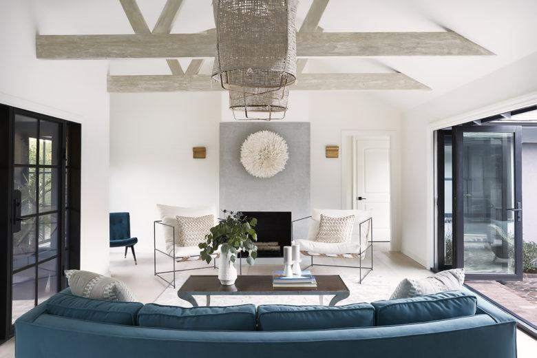 modern luxury living room interior design by Anne Carr