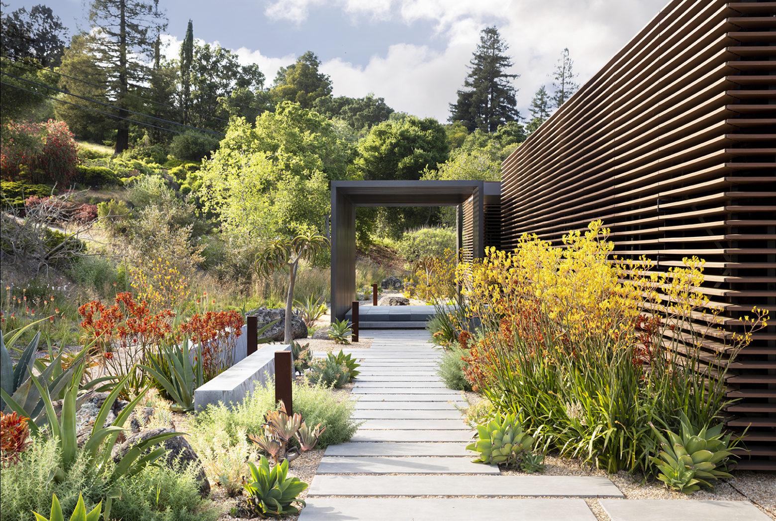 residential garden design ideas by Surfacedesign