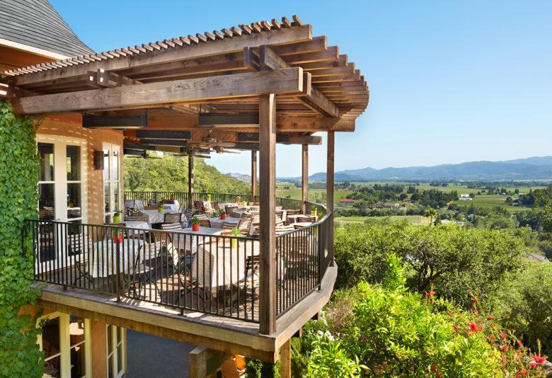 Auberge du Soliel romantic resort in Napa Valley California