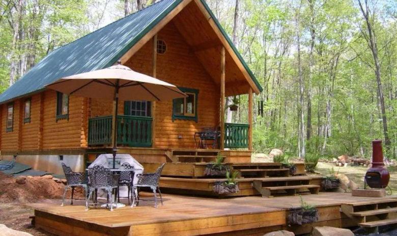 Conestoga self build mini log cabins