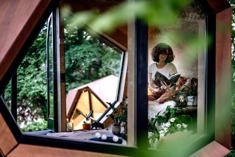 Hello Wood designs mini echo chic cabins
