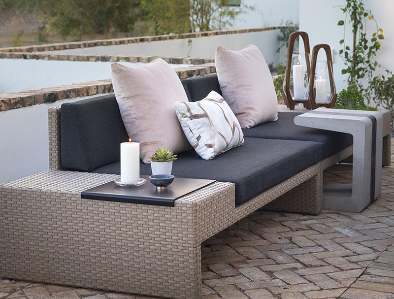 ICONIC HAUS patio design by Donna Mondi