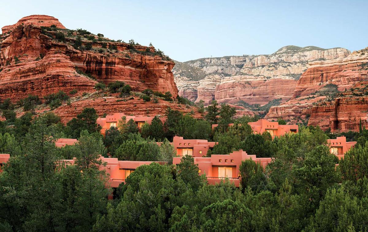 Red Rock views in Sedona Arizona at The Enchantment Resort