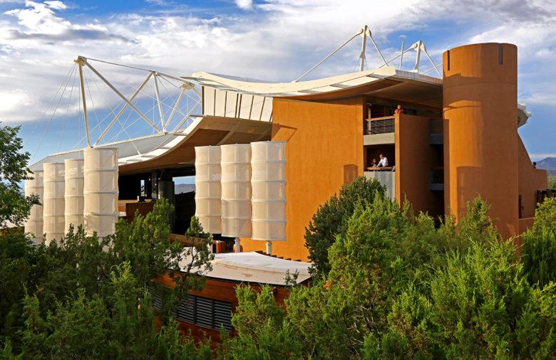 Santa Fe New Mexico most famous opera house