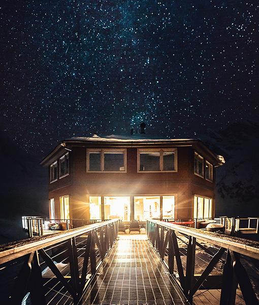 Star Gazing and Northern Lights at Sheldon Lodge