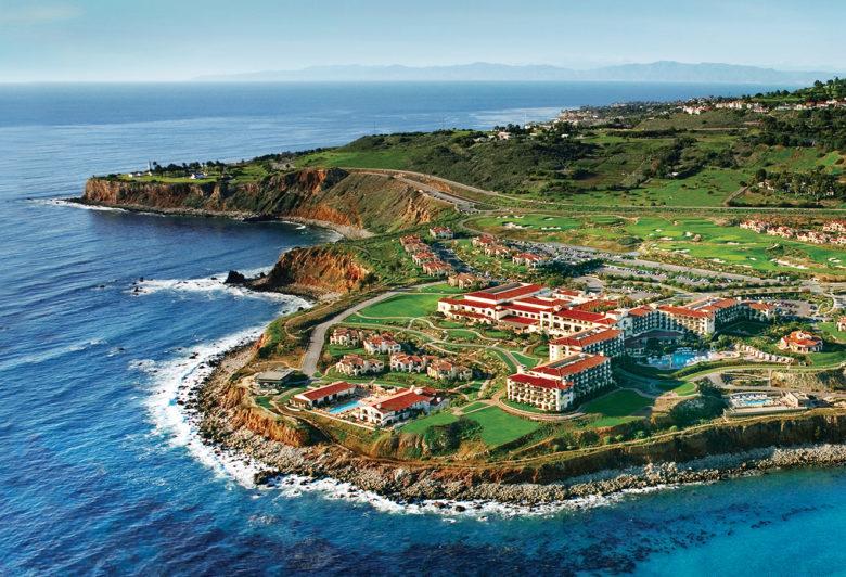 Terranea luxury oceanfront resort in California