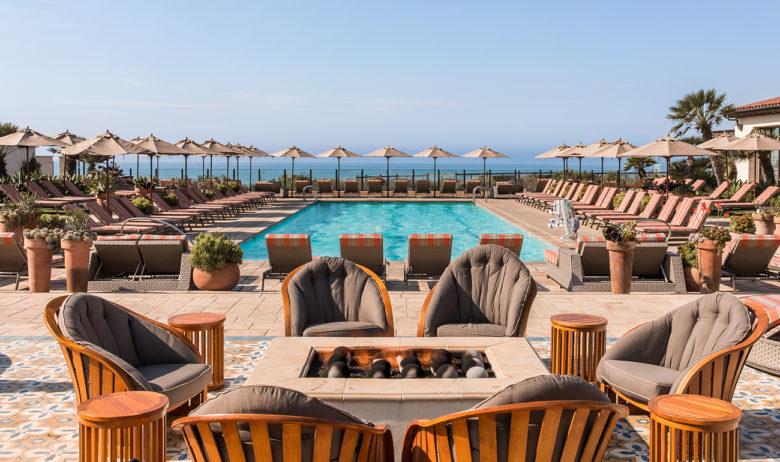 Terranea luxury oceanfront resort pool