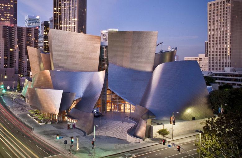 Walt Disney Concert Hall and famous opera house