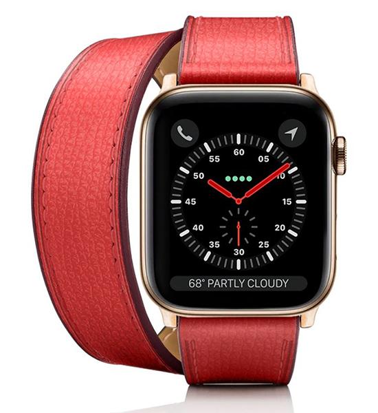 designer luxury Apple watch band by Casetify