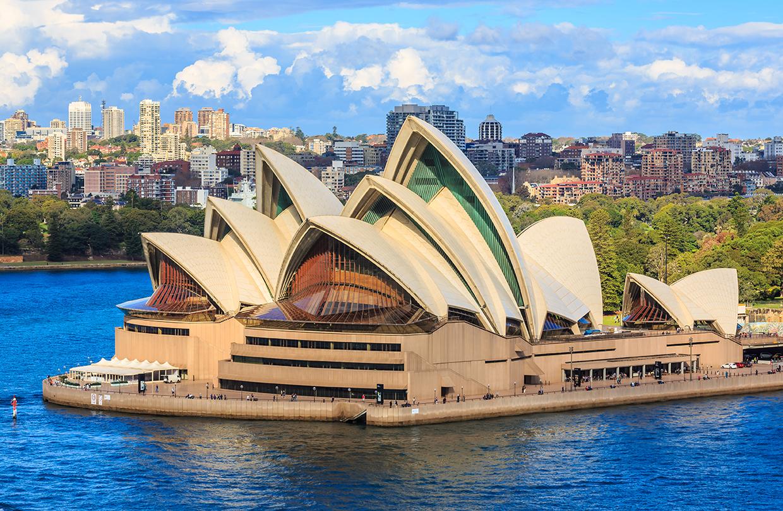 famous Sydney Opera House in Australia