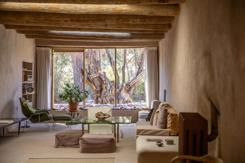 Georgia O'Keeffe's Abiquiu Home and Studio, Sitting Room