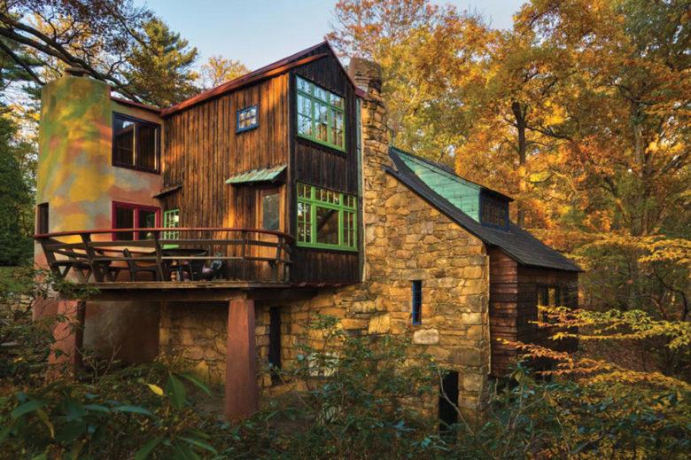 famous artist Wharton Esherick's Home and Studio in Malvern PA
