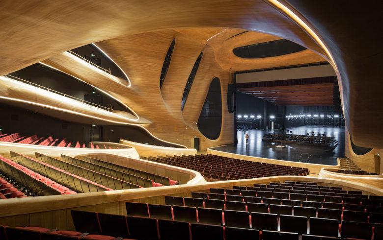 famous opera house in Harbin China
