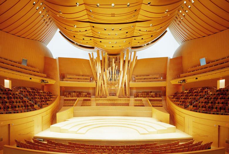 famous opera house in LA Walt Disney Concert Hall