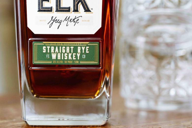 Old Elk Distillery Straight Rye Whiskey