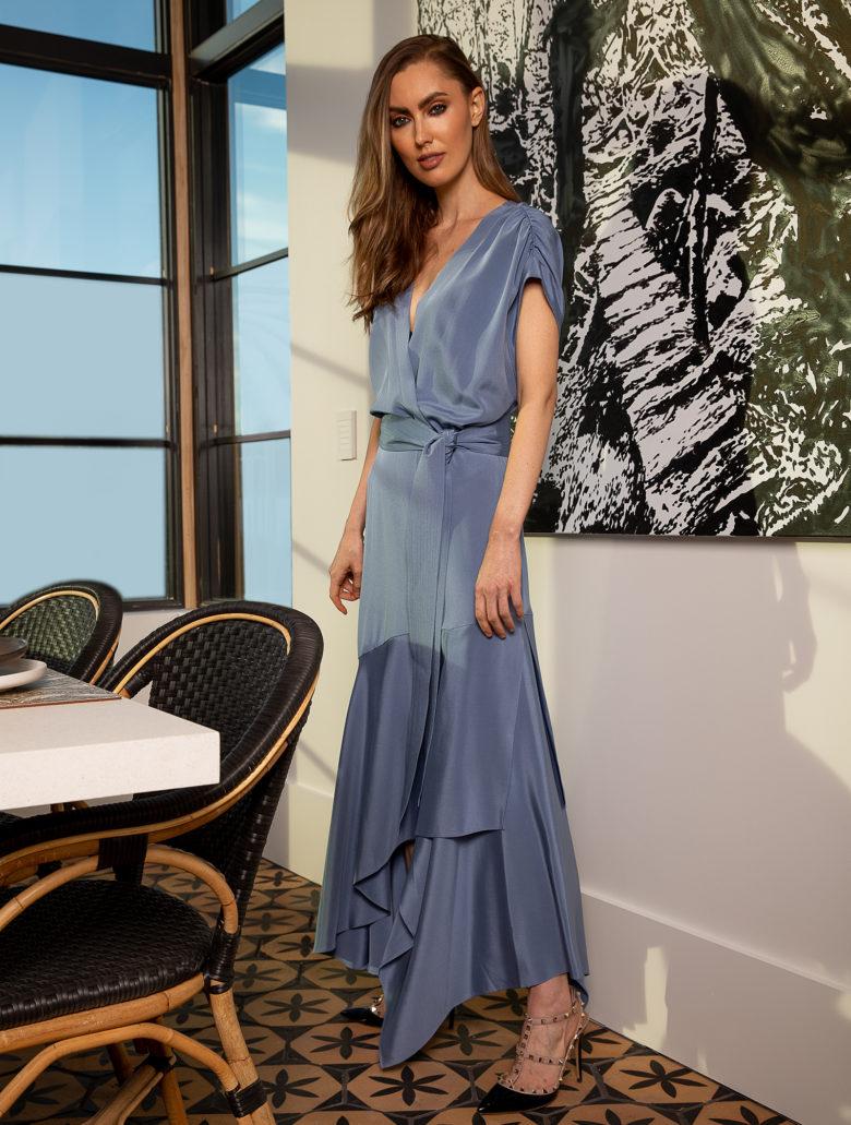 Sylvia Tcherassi dress at ICONIC HAUS Winter 2020 fall fashion