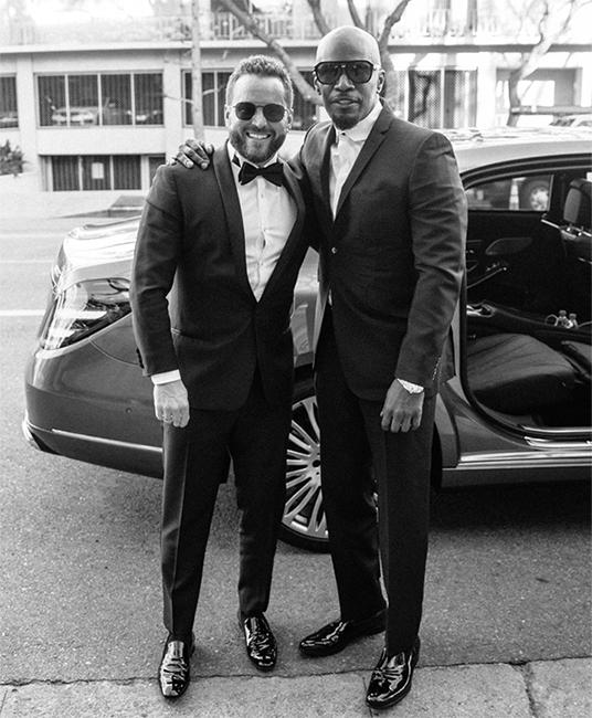 celebrity car broker RD Whittington and Jaime Foxx