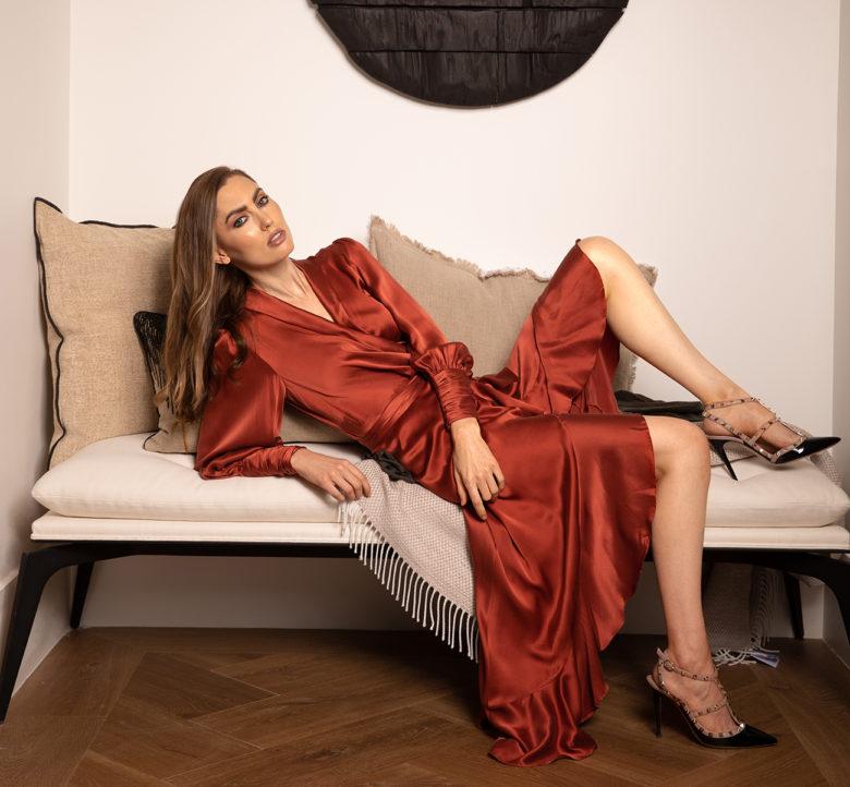 fall fashion shoot at ICONIC HAUS Winter 2020
