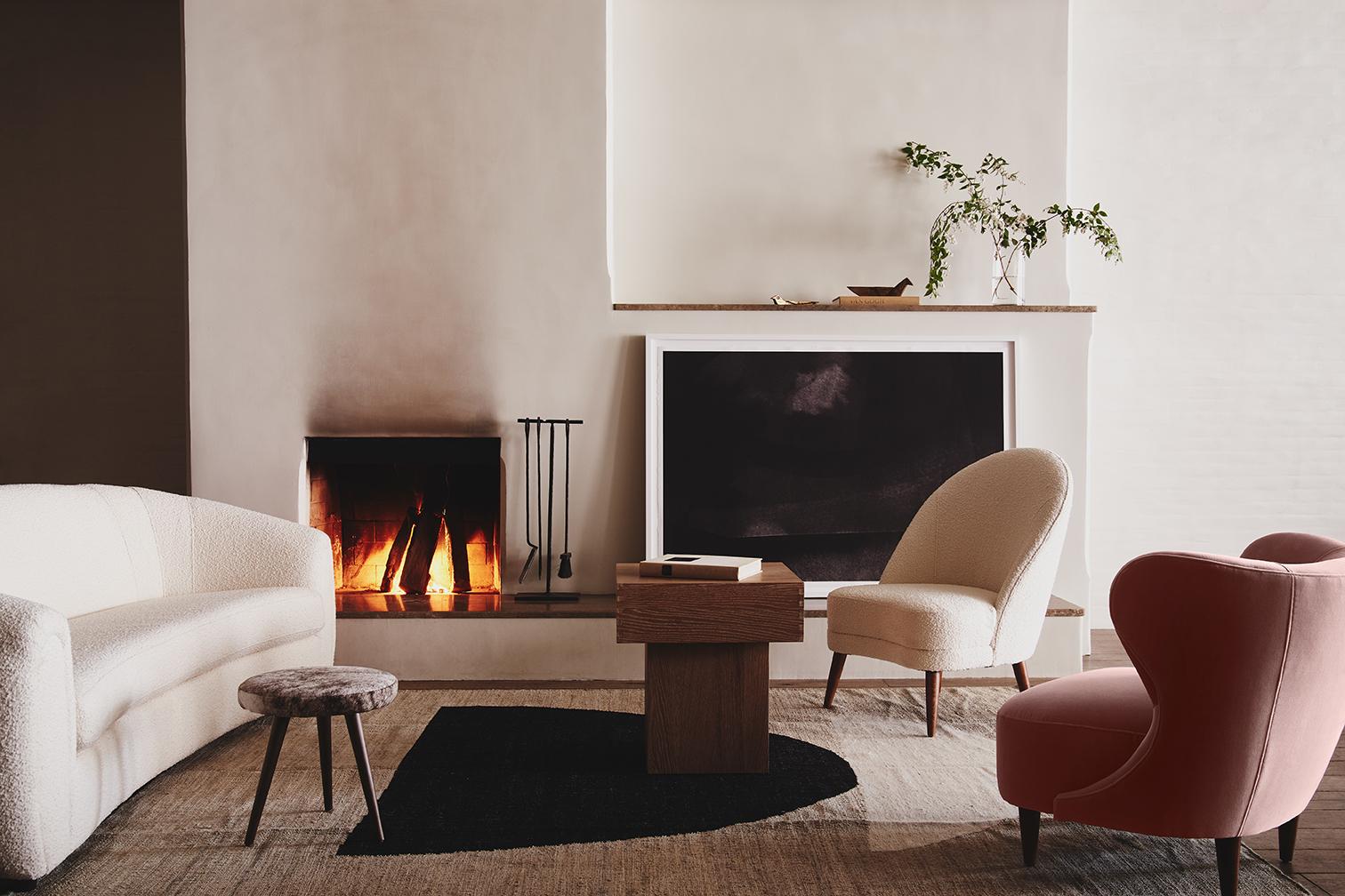 modern home interior design by Christiane Lemieux DwellStudio