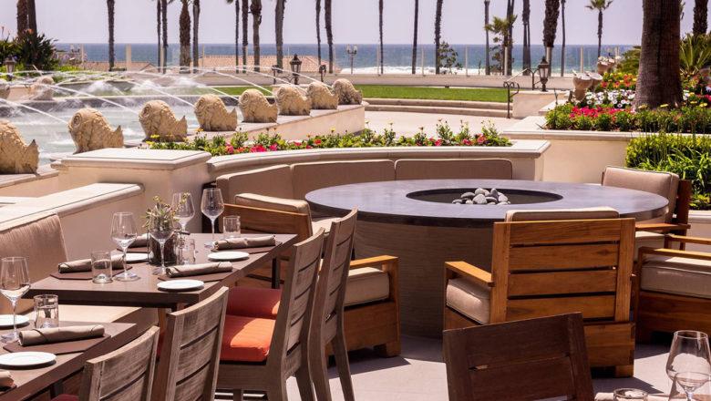 outdoor dining at Watertable - Hyatt Huntington Beach Resort