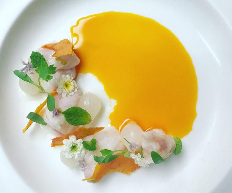 Garlic Papaya, from new luxury restaurant Haiku in Miami