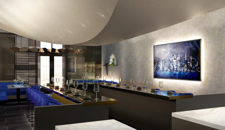 Haiku a new luxury restaurant in Miami